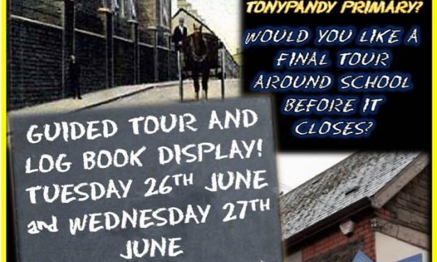 Goodbye Tonypandy Primary