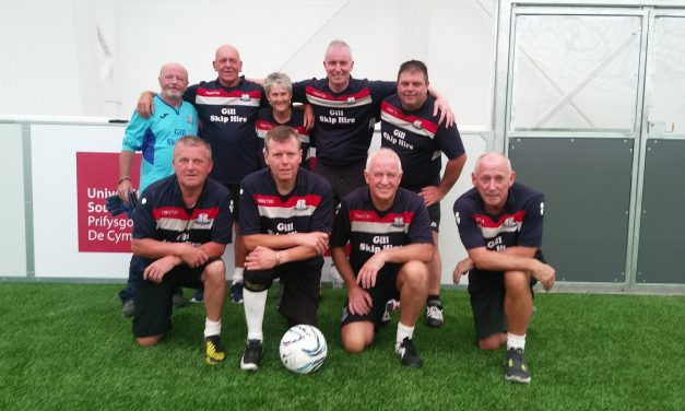 Clydach Vale Walking football is on the up