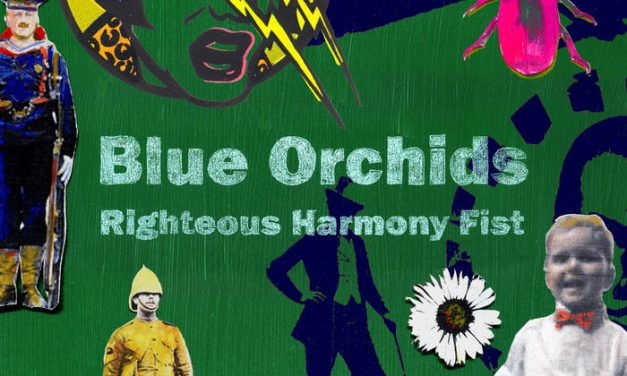 Blue Orchids on the Moon
