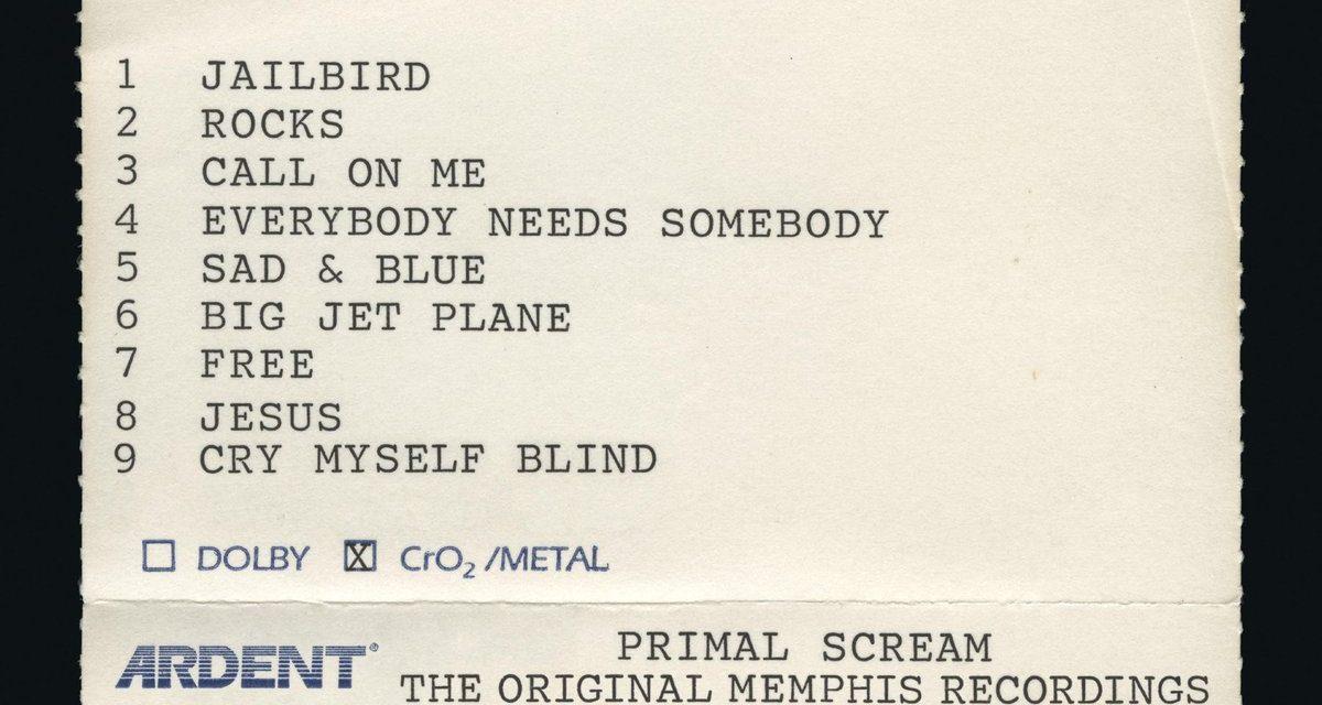 Primal Scream and the Memphis dream