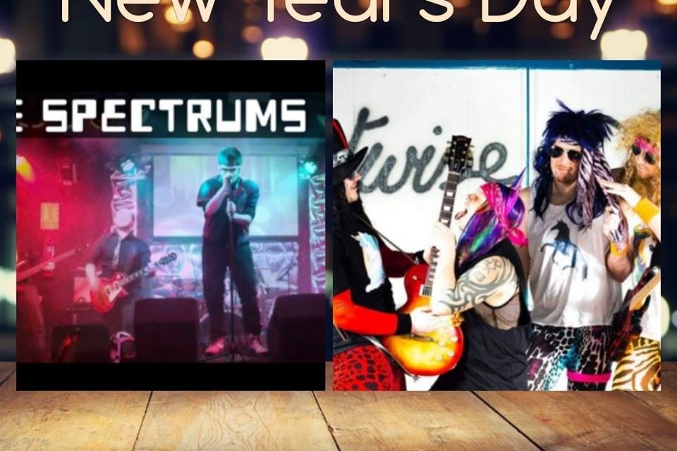 Eighties and alternative sounds for New Year's Day