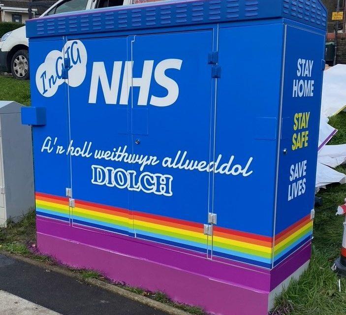 Diolch yn fawr NHS! Virgin Media shows their gratitude for NHS Wales in Rhondda Cynon Taf