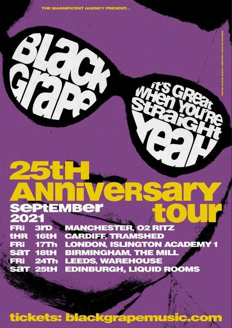 Black Grape for Cardiff