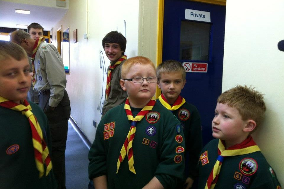 Tonypandy Scout Centenary