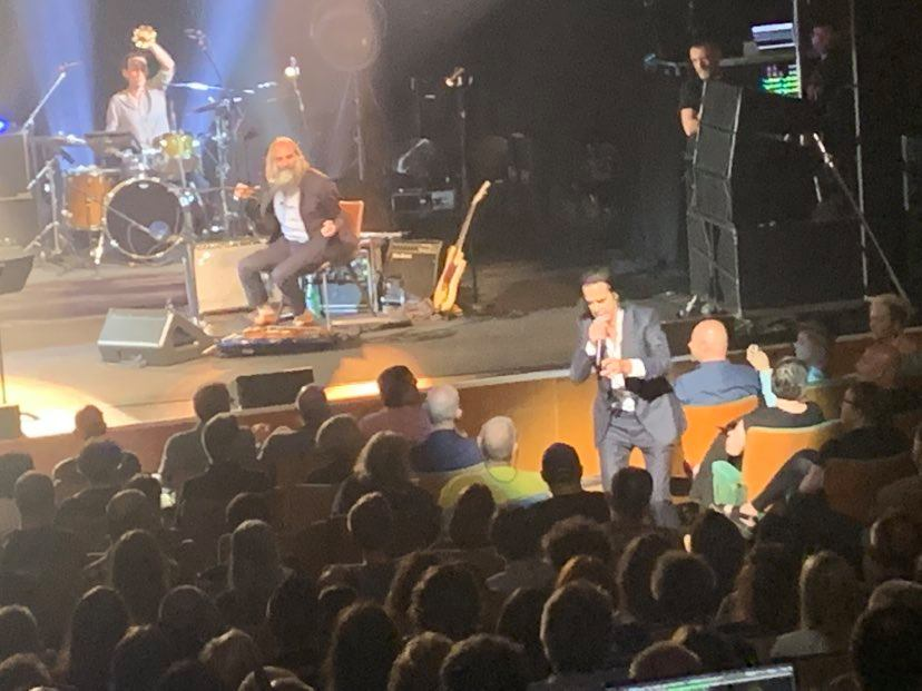 Nick Cave and Warren Ellis bring carnage to Cardiff